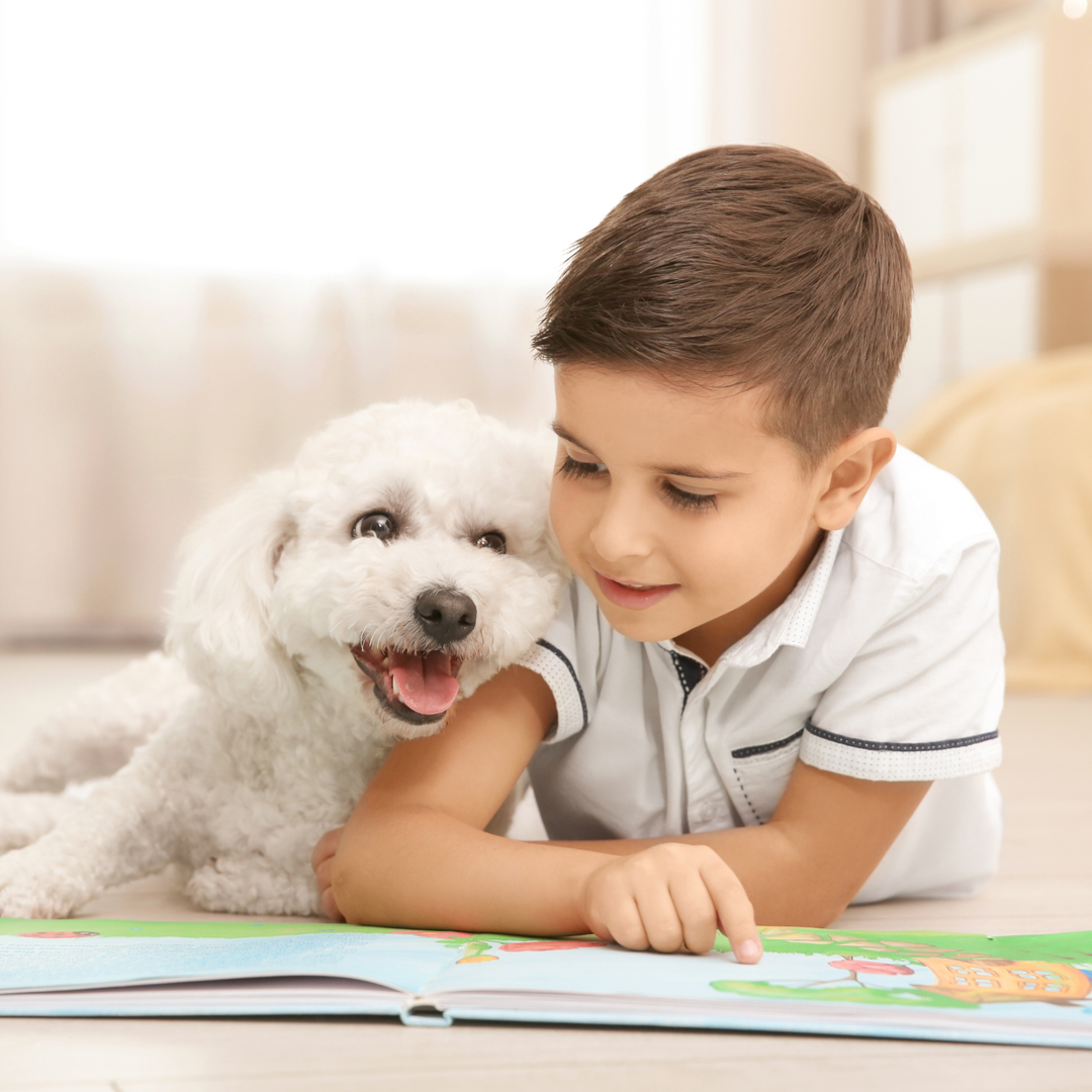 Kids Can Enjoy Storytime with Dogs, Cats and Rabbits at Norfolk Animal Care Center