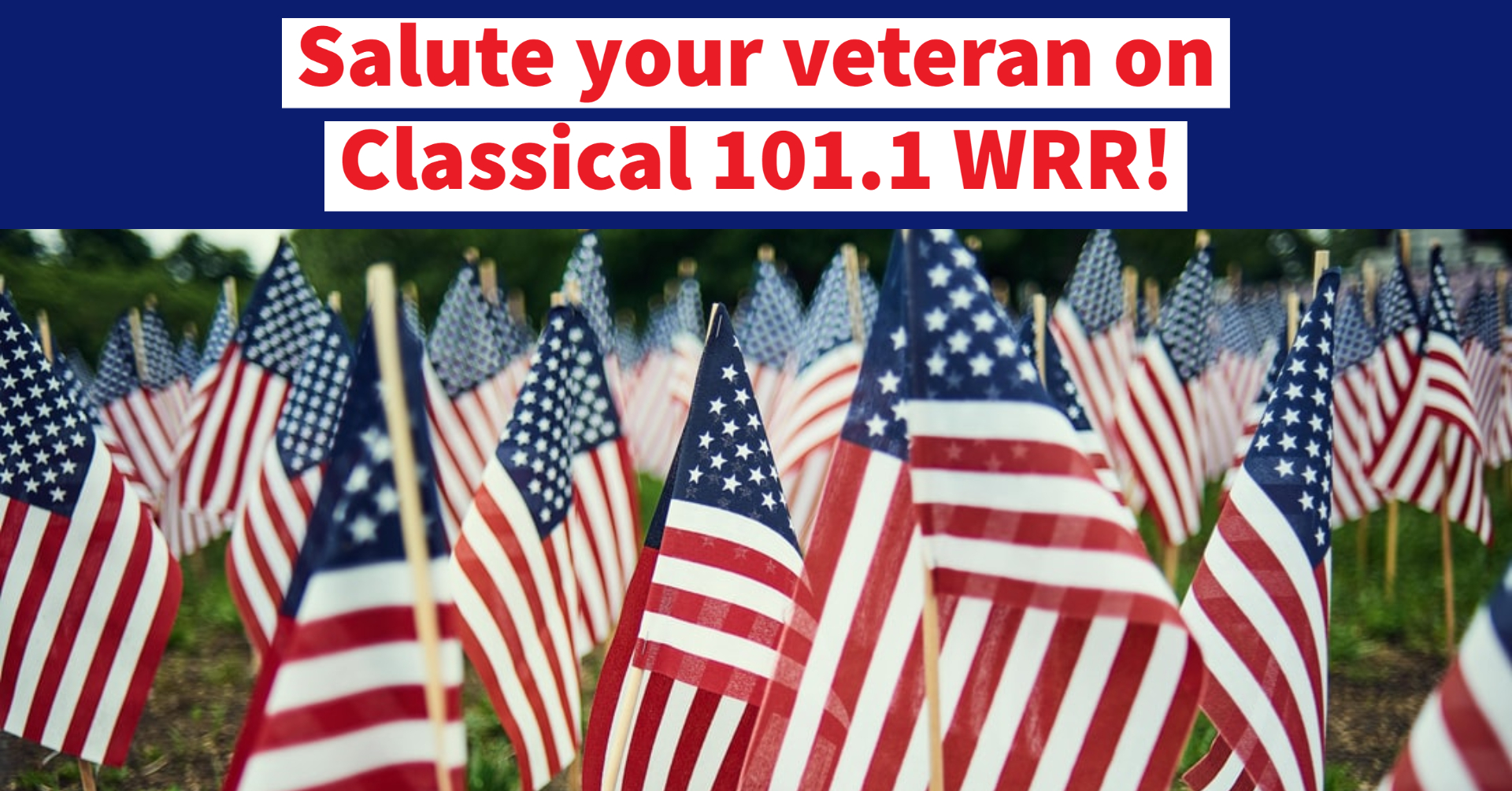 A Tribute to Veterans on WRR