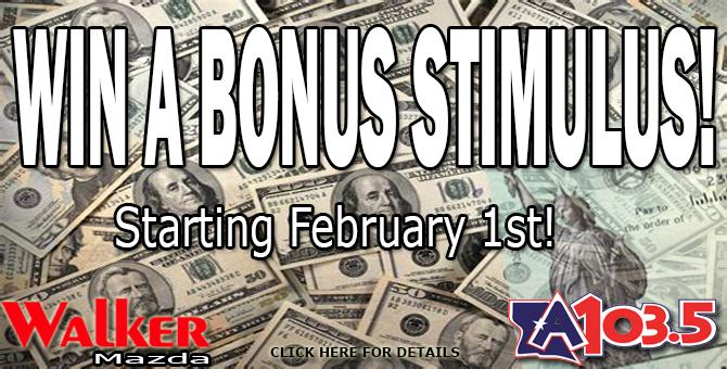 Win A Bonus Stimulus Check!