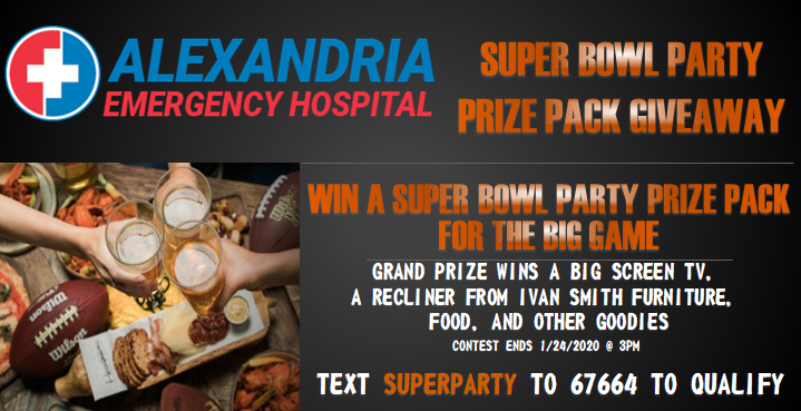 It's A Super Party Prize Pack!