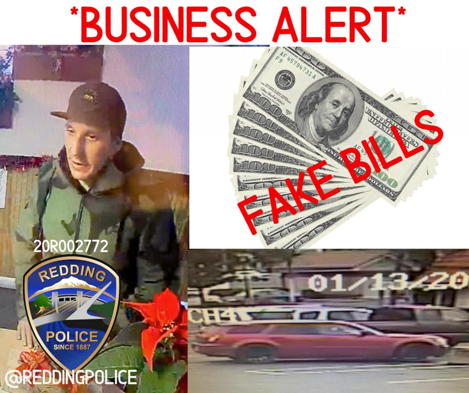 RPD: Man Sought For Using Counterfeit Bills