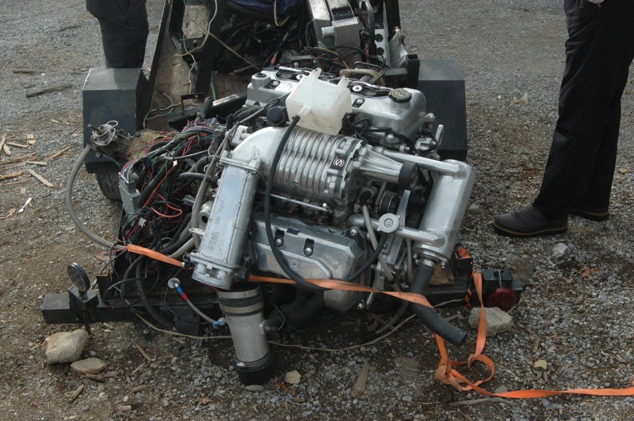 APD Recovers Engine From Classic Cobra Stolen In July