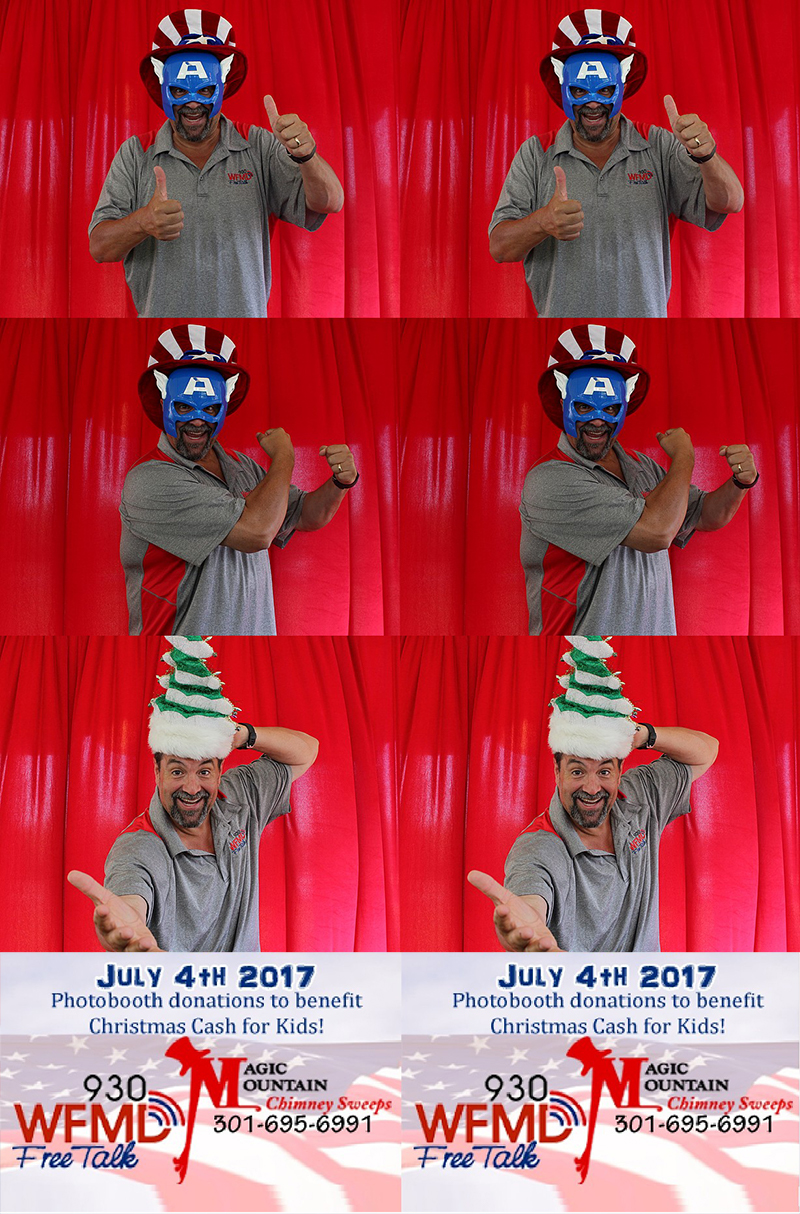 Magic Mountain Chimney Sweeps Photo Booth Gallery