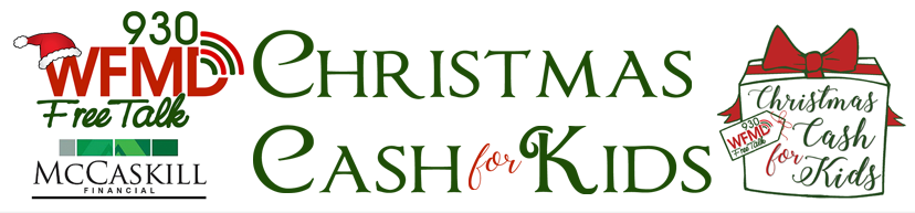 Christmas Cash For Kids, Champions In Frederick, Md 2020 Christmas Cash 4 Kids | WFMD AM