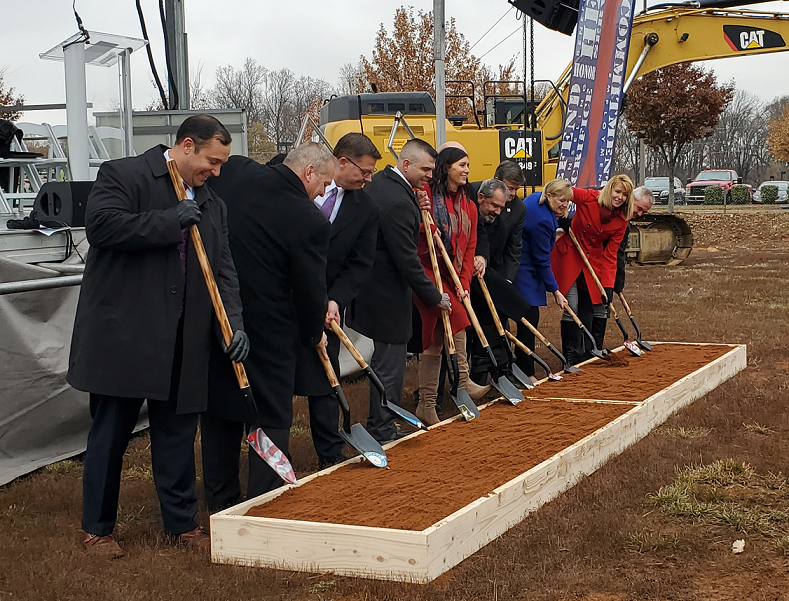 Officials Gather for Groundbreaking of Frederick Veterans Center
