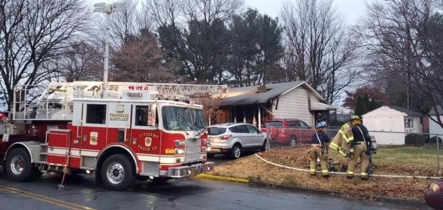 Frederick House Fire Injures 3