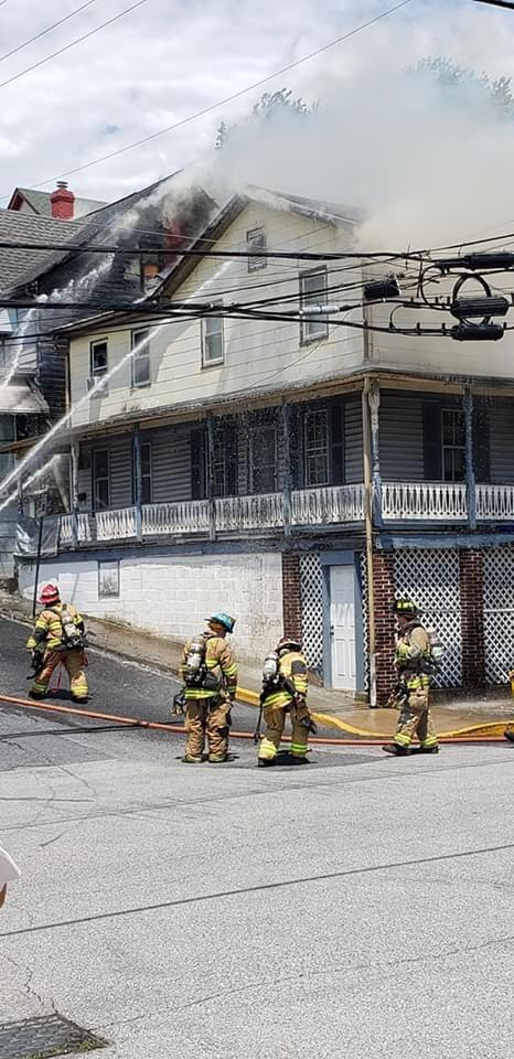Fire Fighters Battle  Two House Fires  In Brunswick