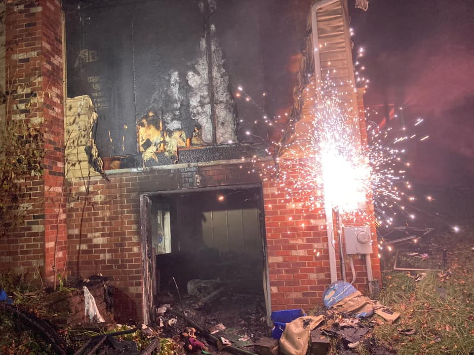 Fire Displaces 6 In Monrovia