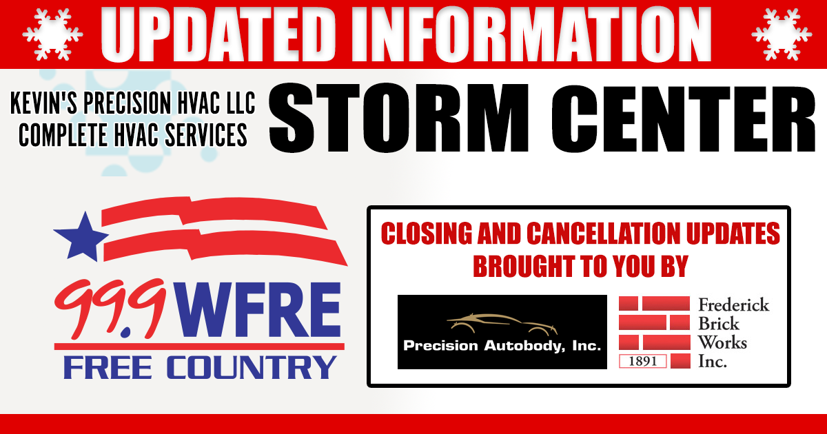 Closings and Cancellations 12/17/20