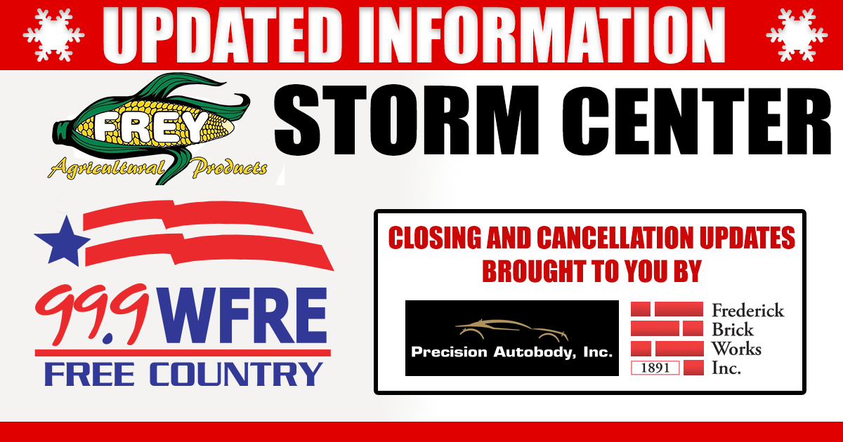 Closings and Cancellations- 2/19/2021