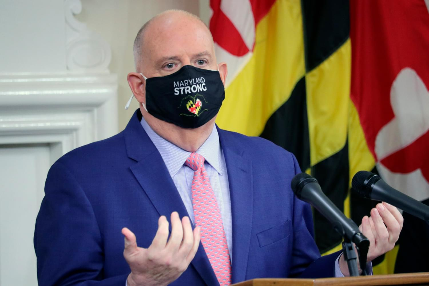 Governor Hogan Says He's Happy With Just Concluded 2021 General Assembly