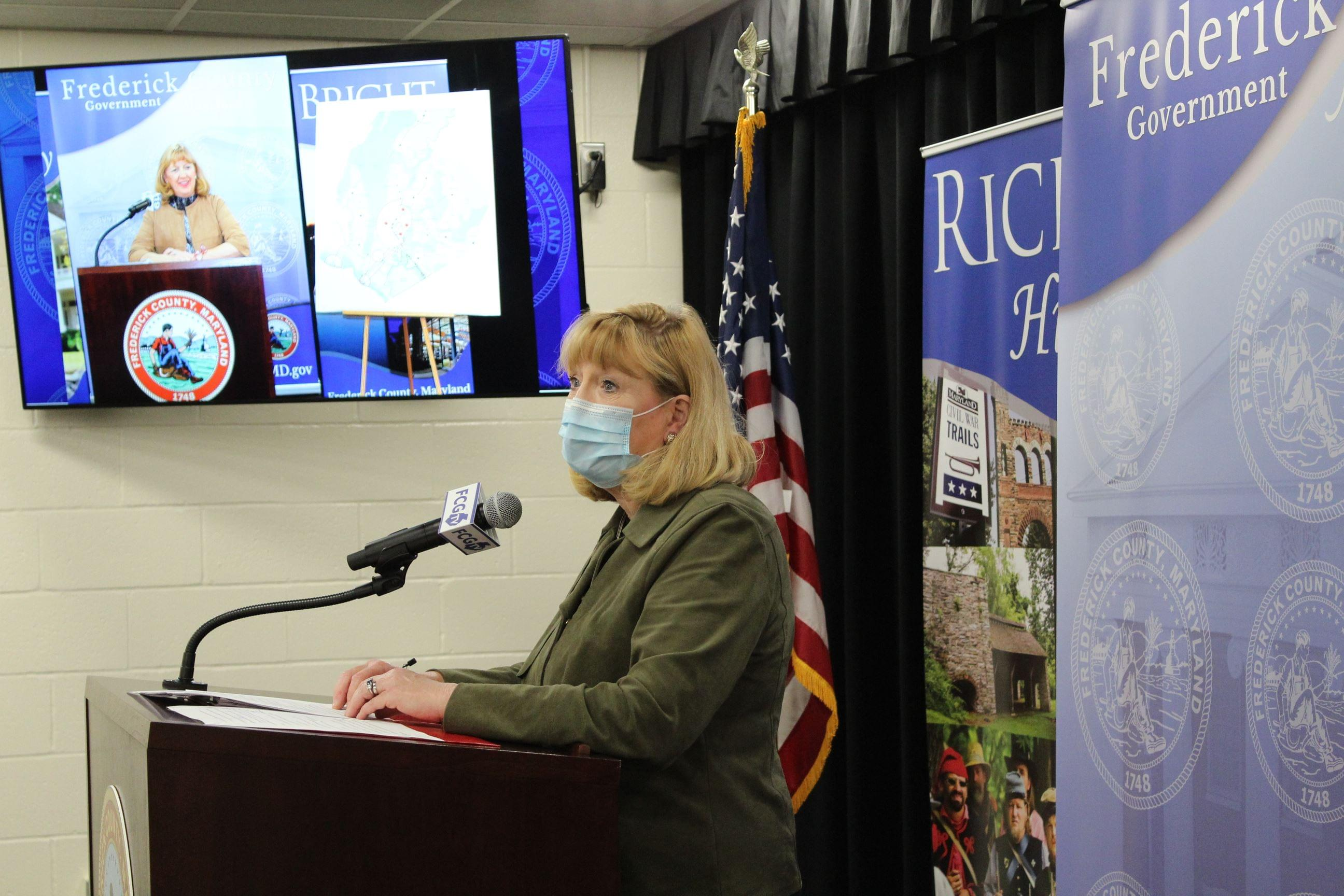 Frederick County Executive, Health Officer Announce Drive-Through Vaccination Clinic