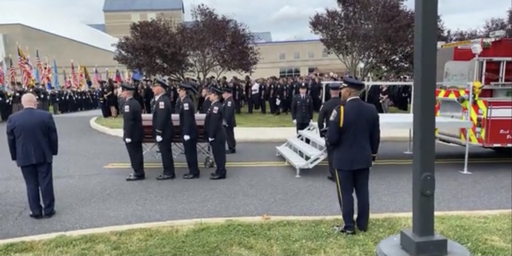Many Gather At Funeral For Fallen Frederick County Firefighter On Tuesday