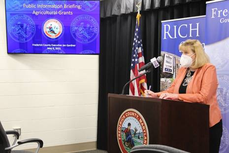 Frederick County Executive Urges Residents To Get Vaccinated, Reduce Community Transmission