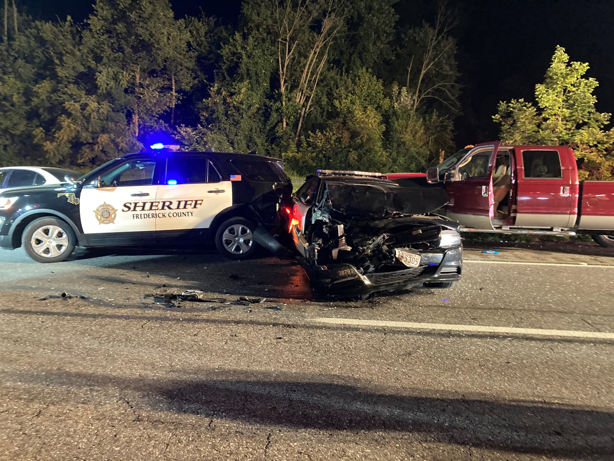 Two Frederick County Sheriff's Deputies Hurt During Traffic Stop