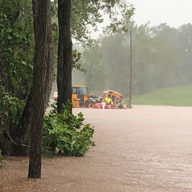 Heavy Rains Keep Frederick County Fire & Rescue Crews Busy Wednesday Afternoon