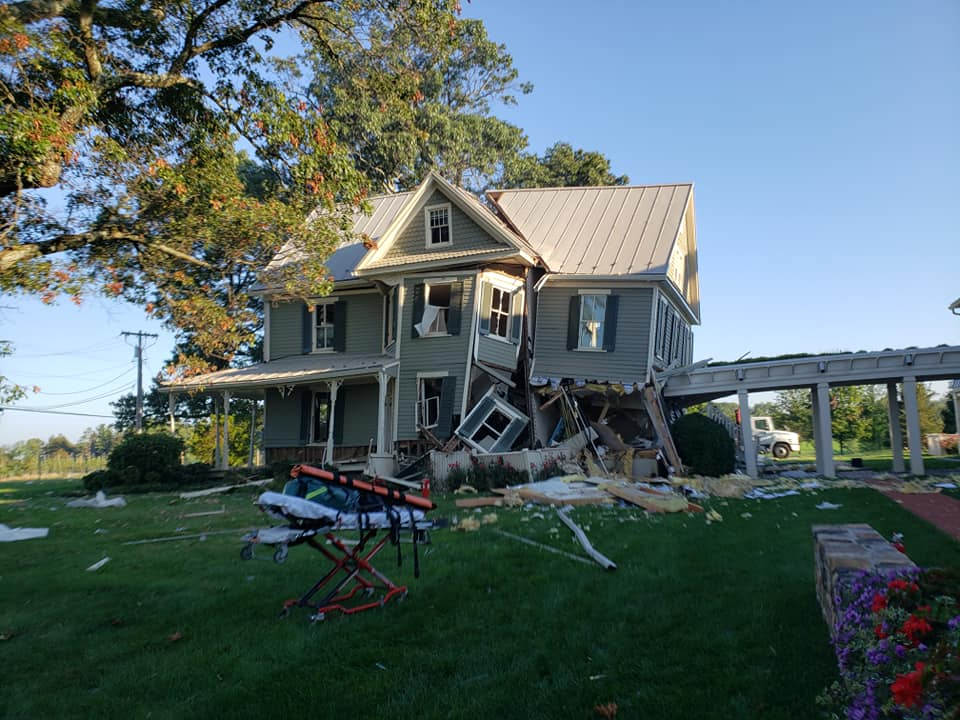 Two People Taken To Hospitals After House Explodes In Montgomery County