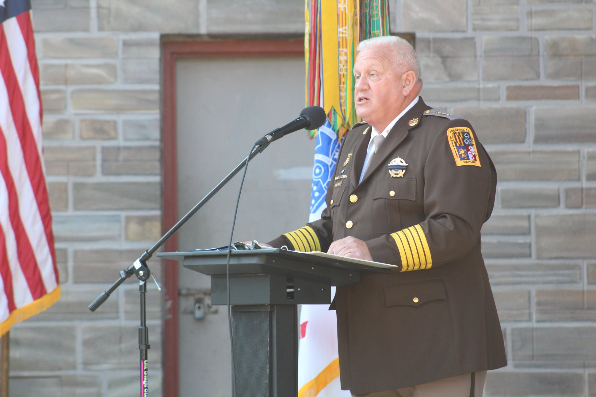 Frederick County Sheriff Defends Speech From 9/11 Remembrance Ceremony