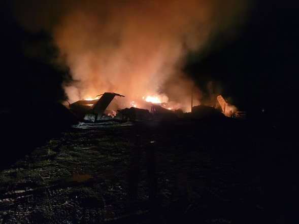 Md. State Fire Marshal's Office Investigating Barn Fire In Carroll County
