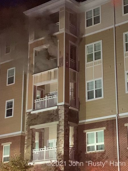 One Person Suffered Smoke Inhalation From Apartment Fire In Frederick Early Monday Morning