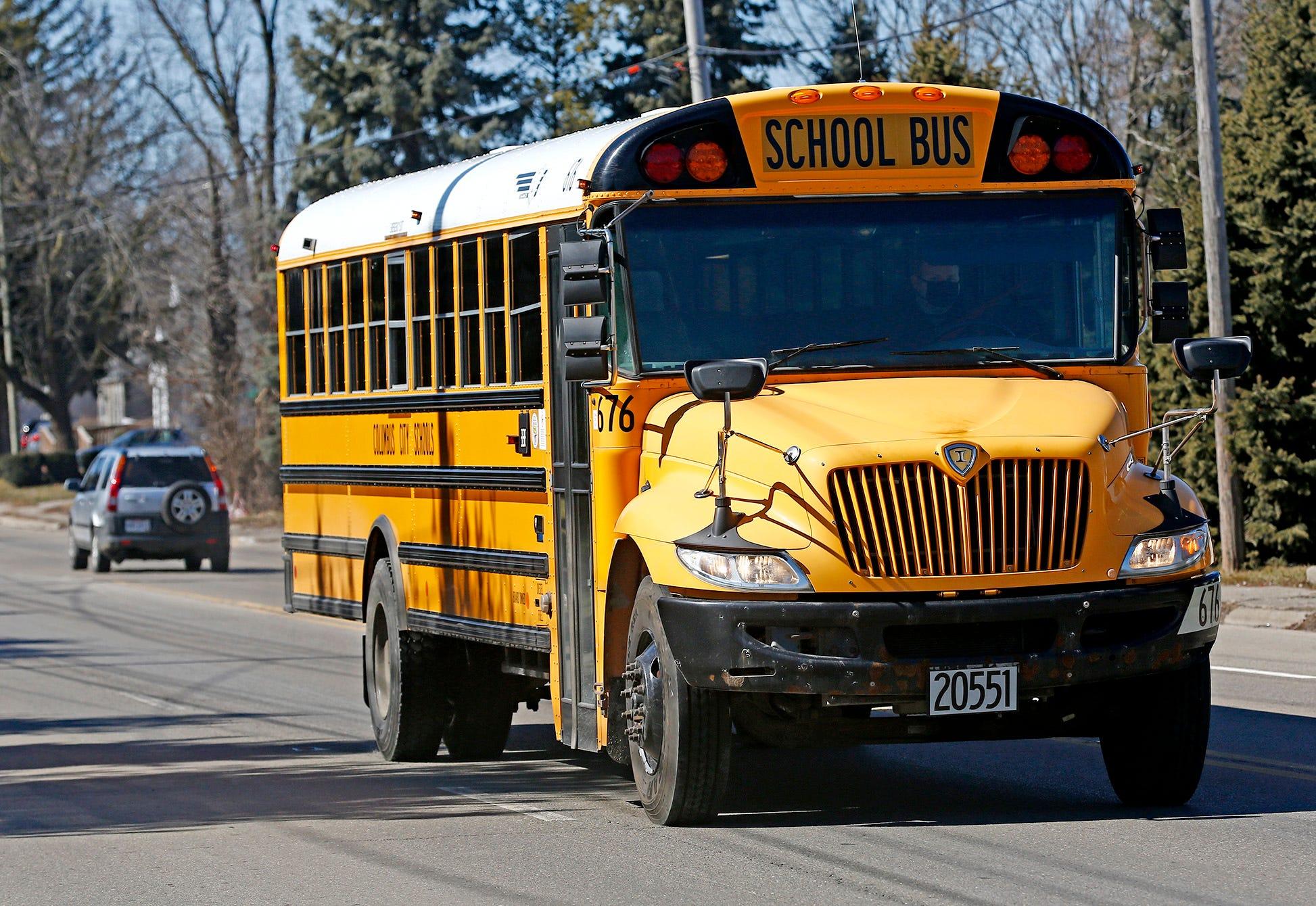 Crash Involving A School Bus In Frederick County