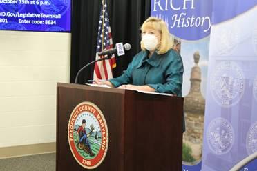 Frederick County Executive Jan Gardner Proposes 4 Legislative Priorities For 2022 General Assembly