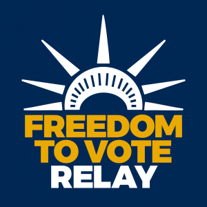 Freedom To Vote Relay Makes Its Way Through Frederick County
