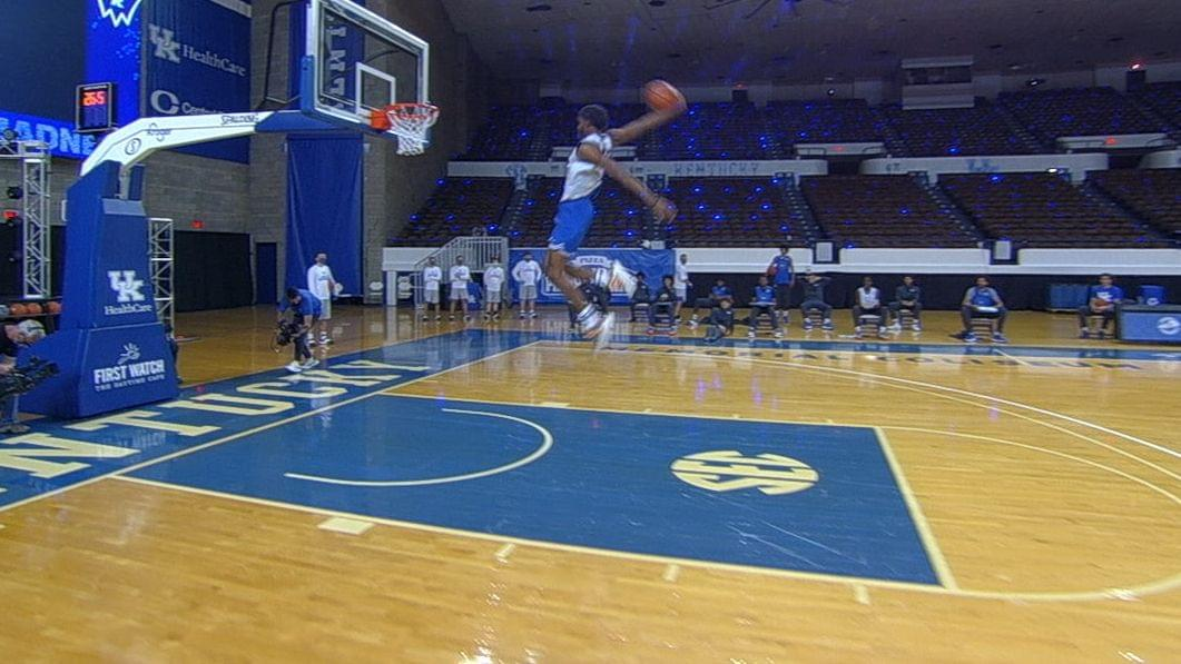 Blue Blue Madness showcases basketball talent