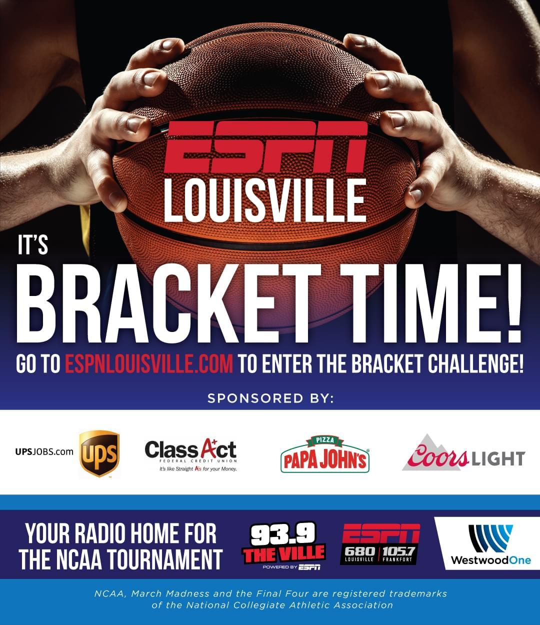2020 ESPN Louisville Bracket Challenge | WHBE-AM