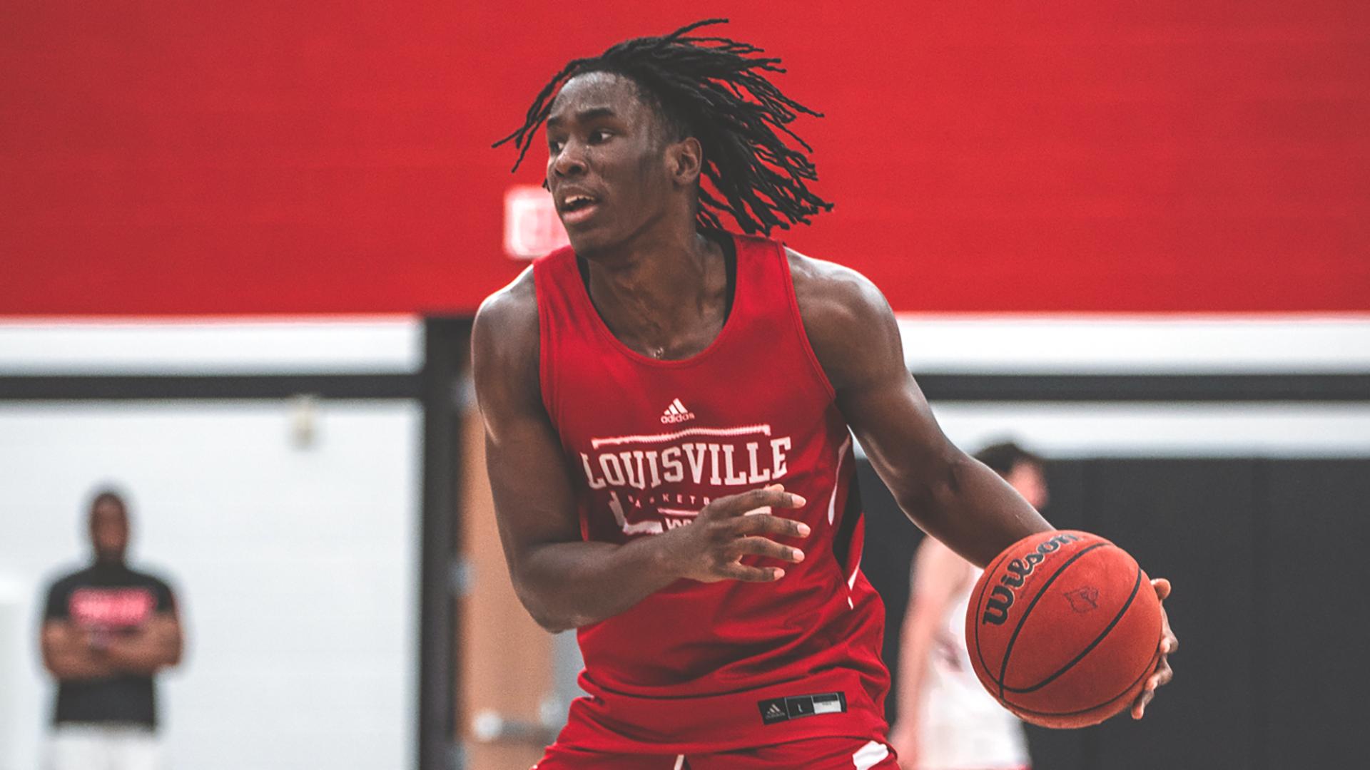 Louisville freshman Mike James to miss 2021-22 basketball season with torn Achilles tendon