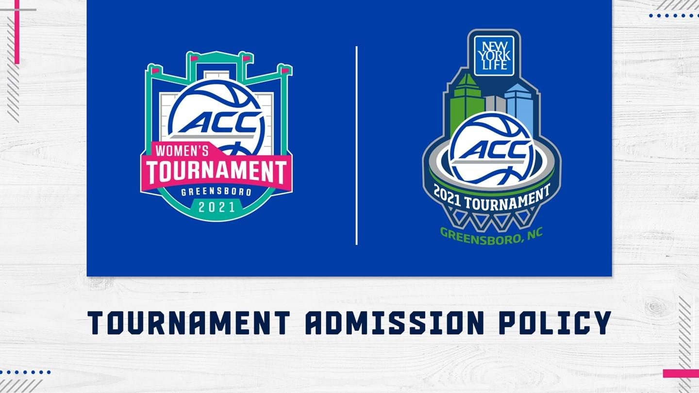 ACC Outlines Basketball Tournament Admission Policy