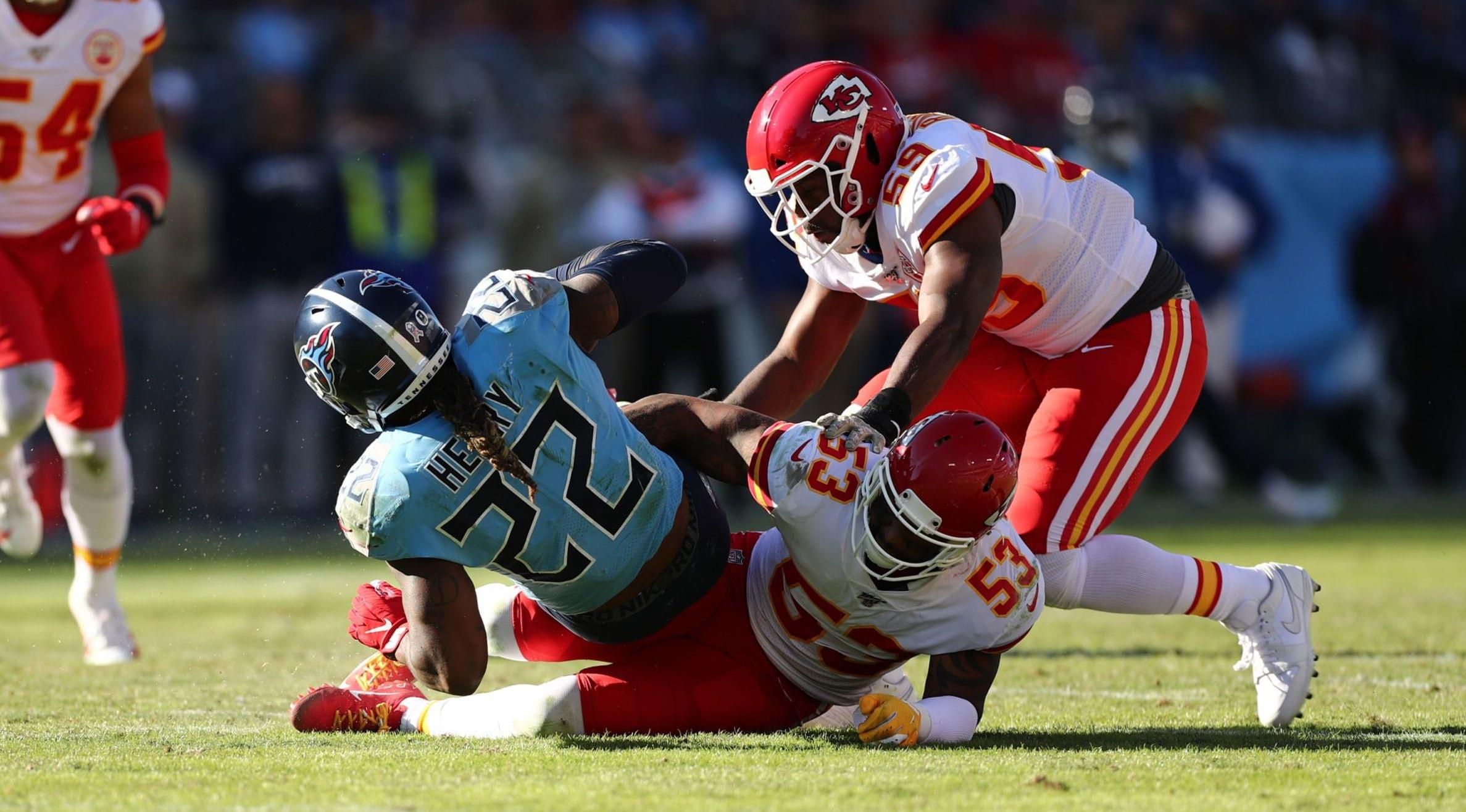 Stopping Derrick Henry Chiefs' Top Mission