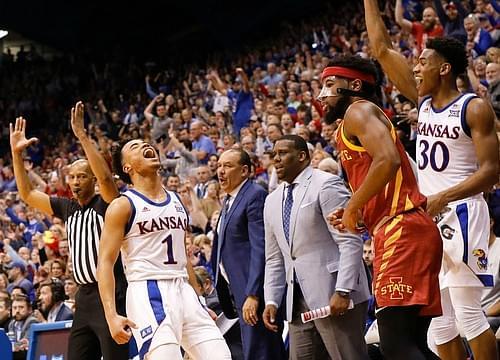Kansas Finishes No. 1