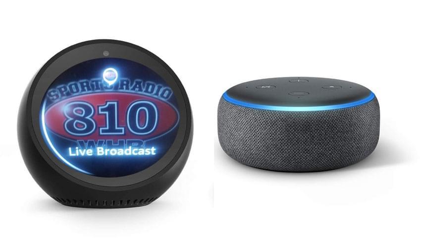Listen to Sports Radio 810 on your Amazon smart speaker!