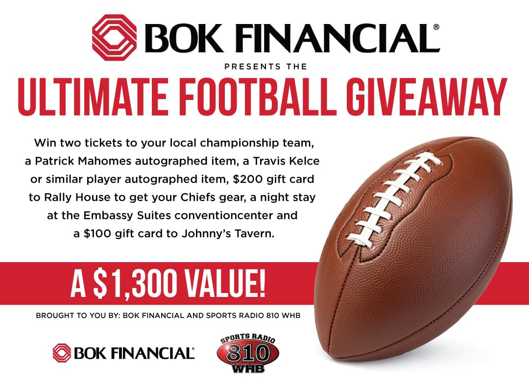 Register to Win the Ultimate Football Giveaway