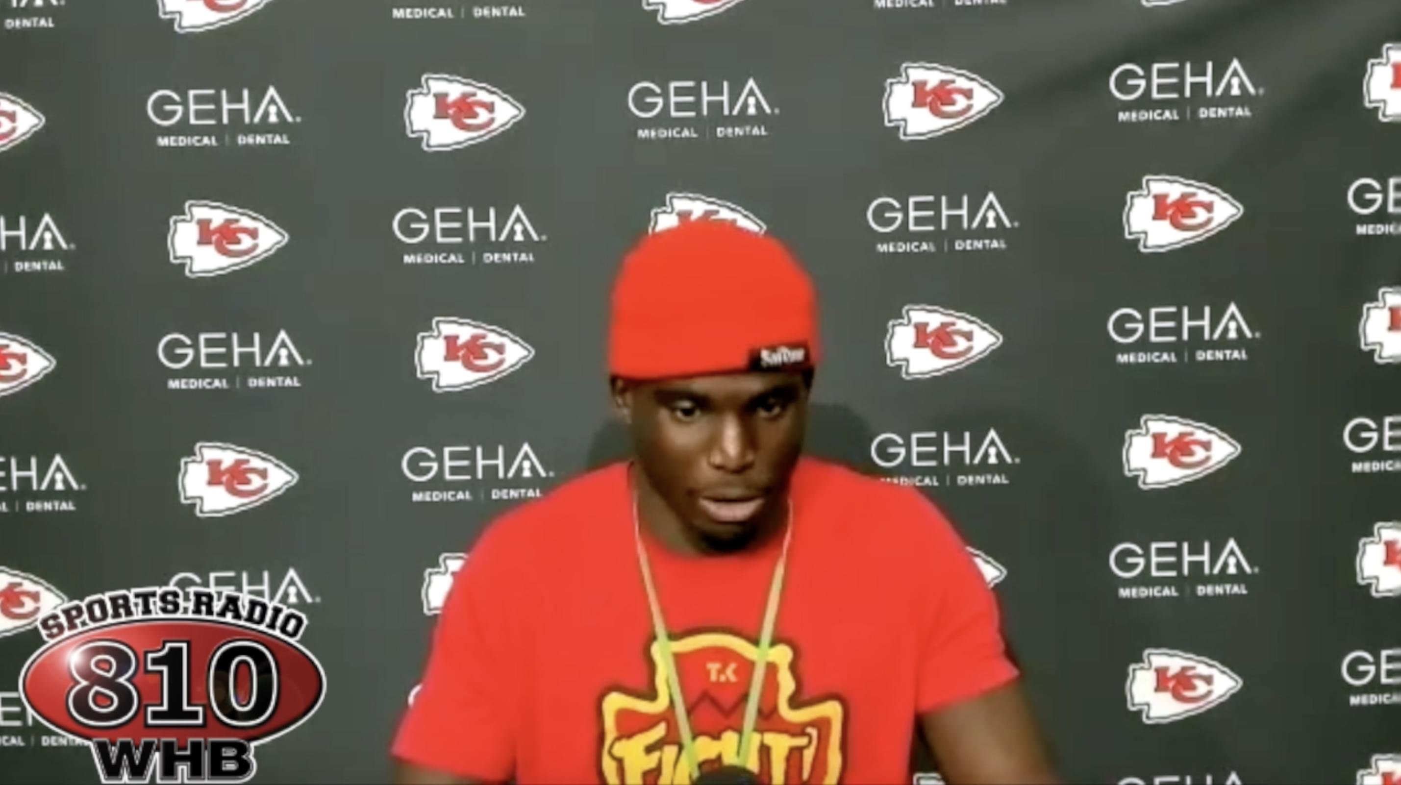WATCH: Chiefs press conferences following OT win over Chargers in Week 2