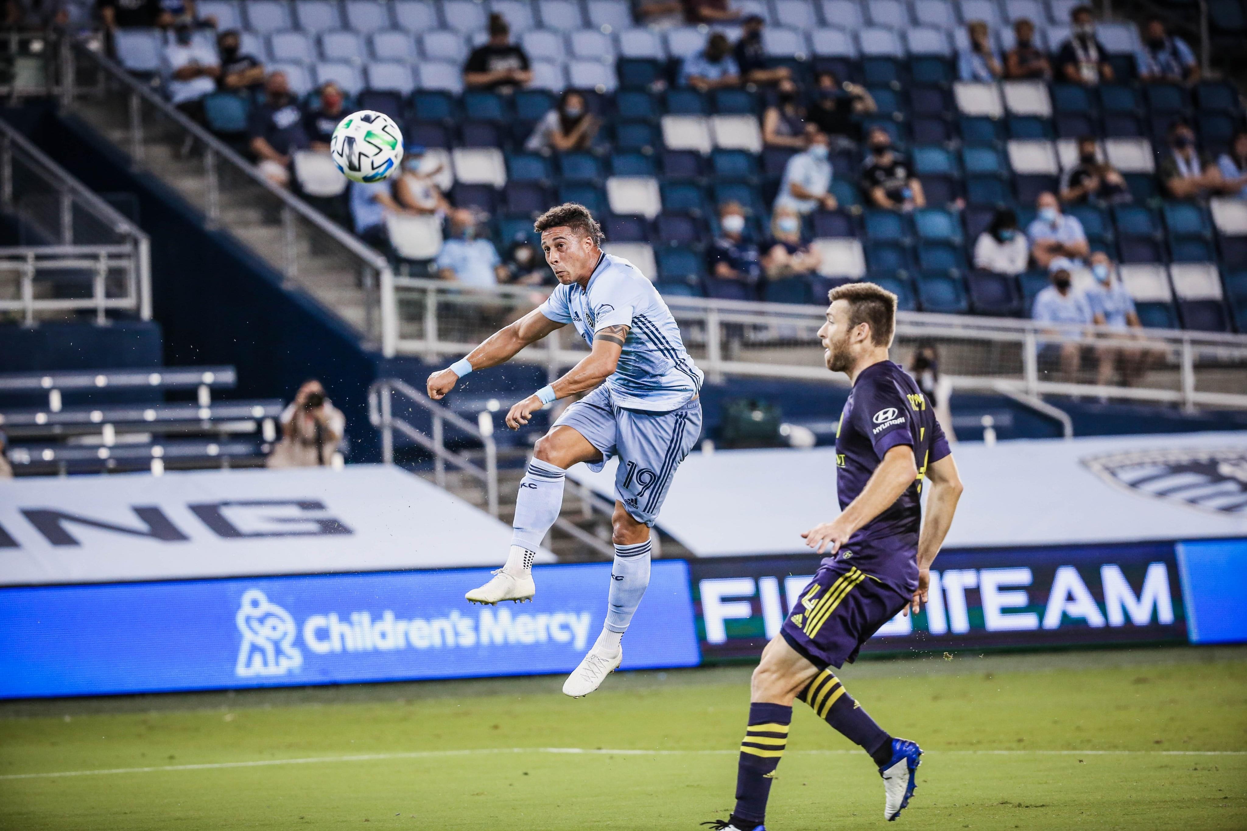 WATCH: Erik Hurtado scores jaw-dropping game winner in Sporting KC's 2-1 win over Nashville SC