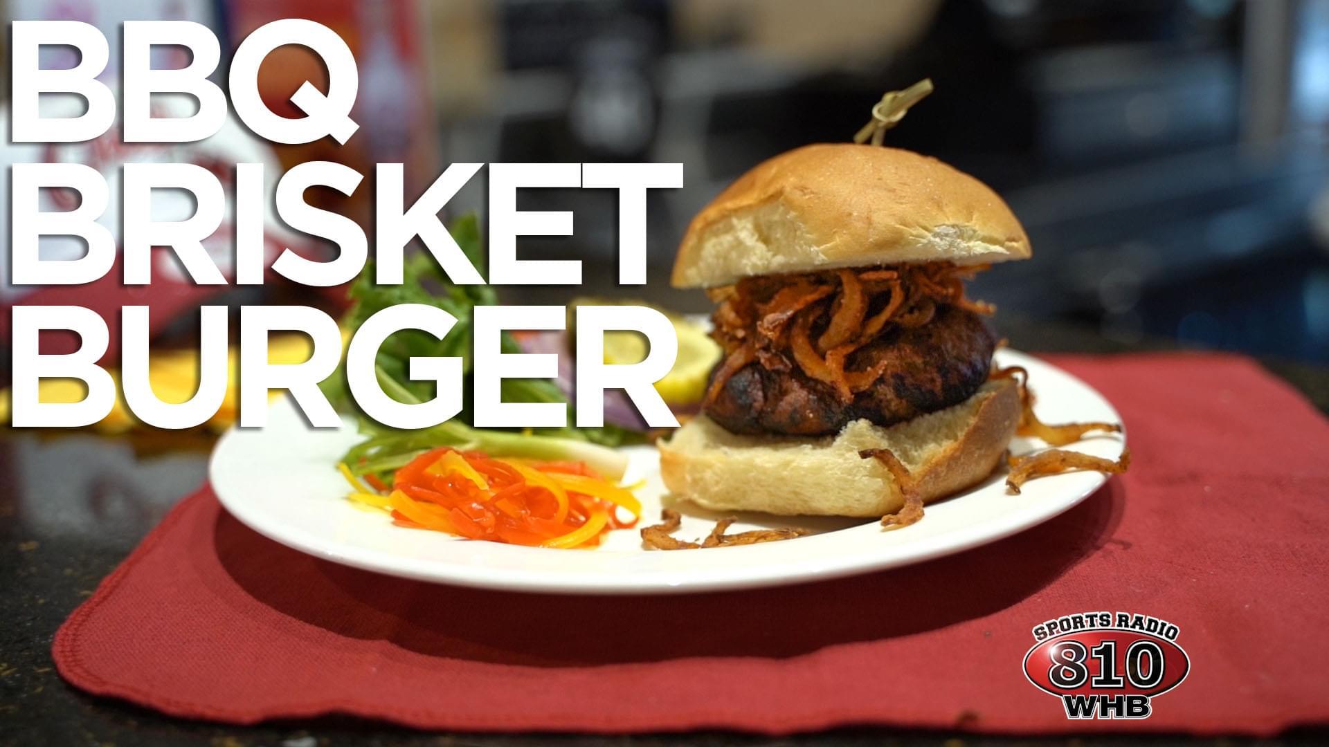 Hy-Vee Week 7 Burger of the Week: BBQ Brisket Burger