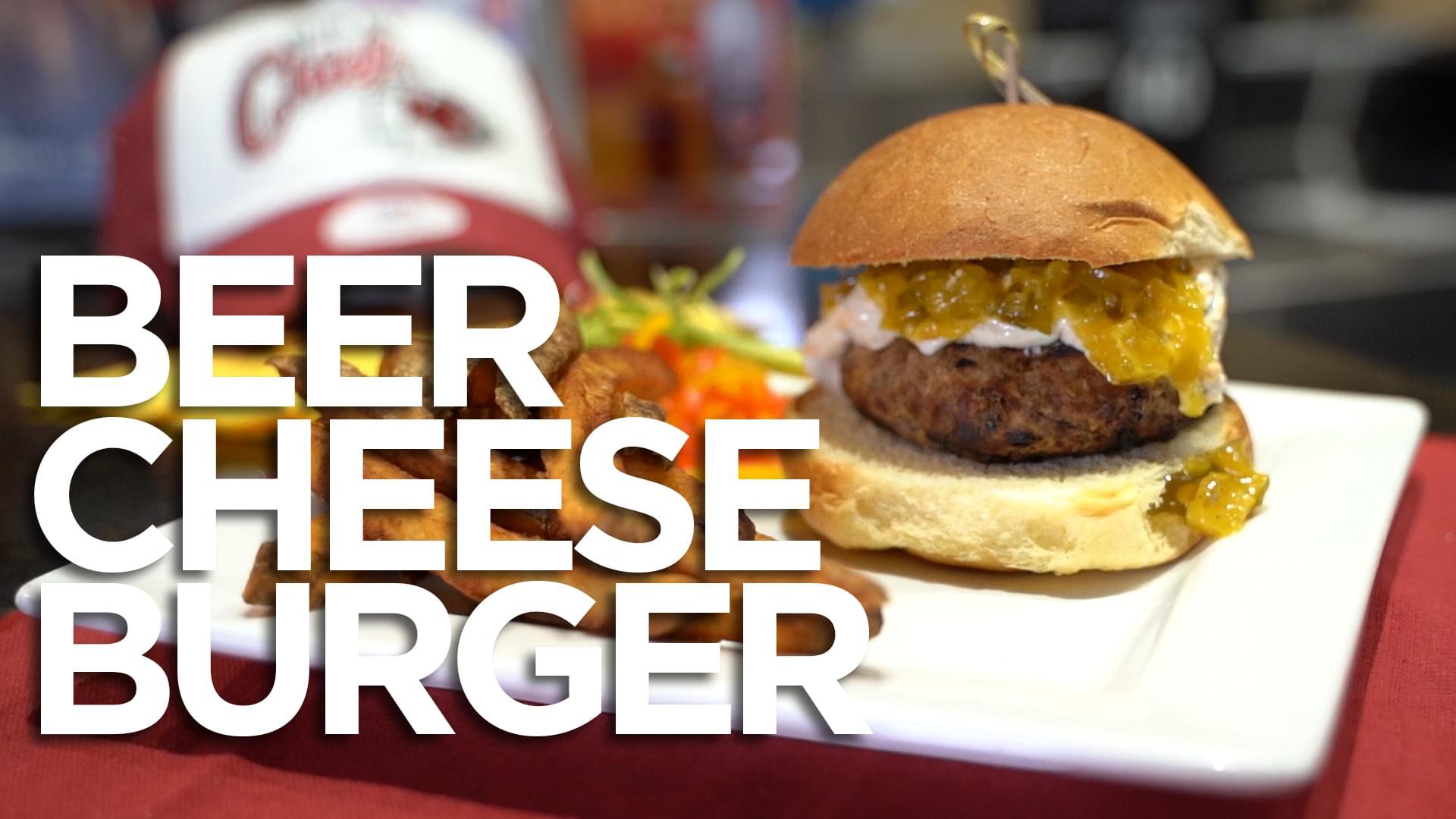 HyVee Week 9 Burger of the Week: Beer Cheese Burger