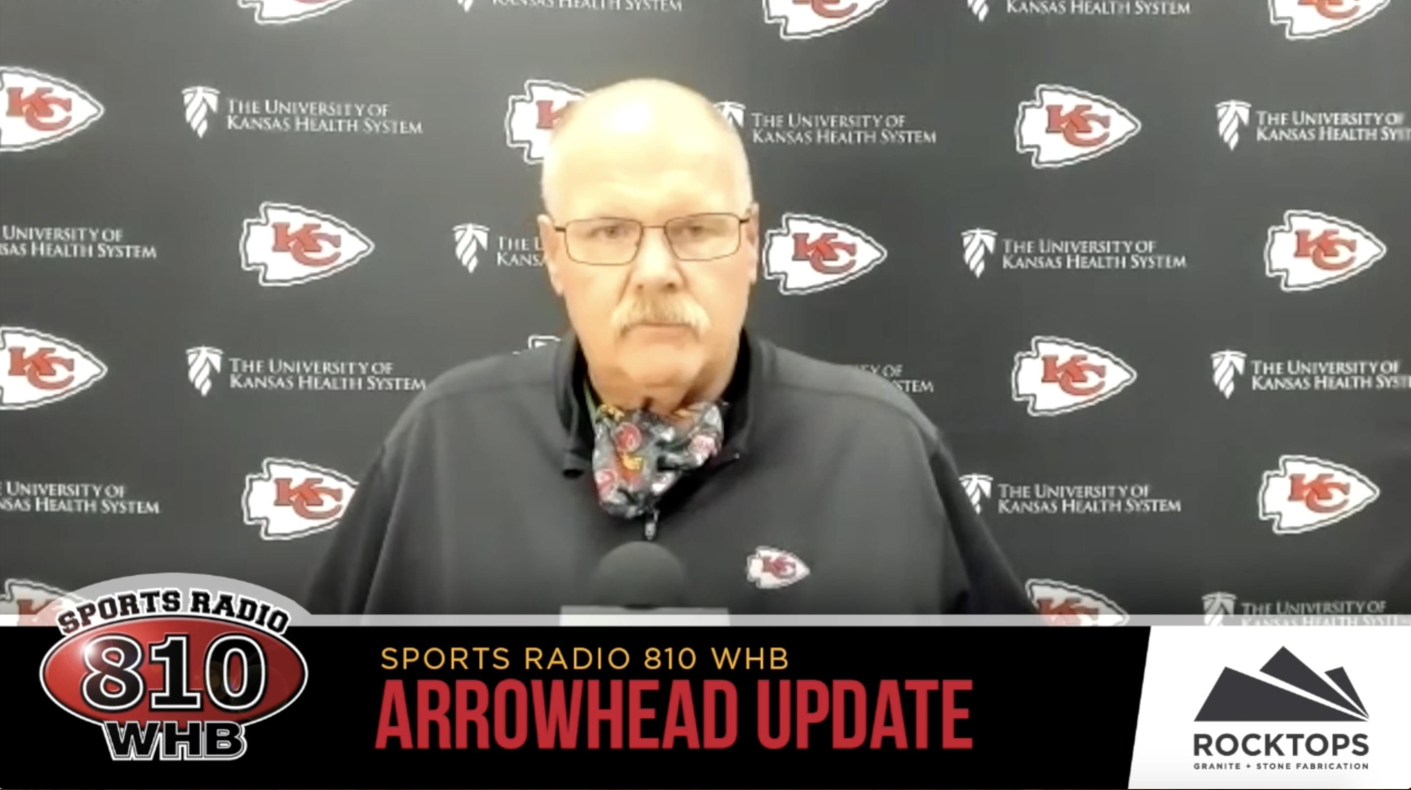 Andy Reid Addresses Media Before Bye Week