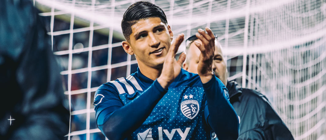 Sporting KC striker Alan Pulido named a finalist for 2020 MLS Newcomer of the Year
