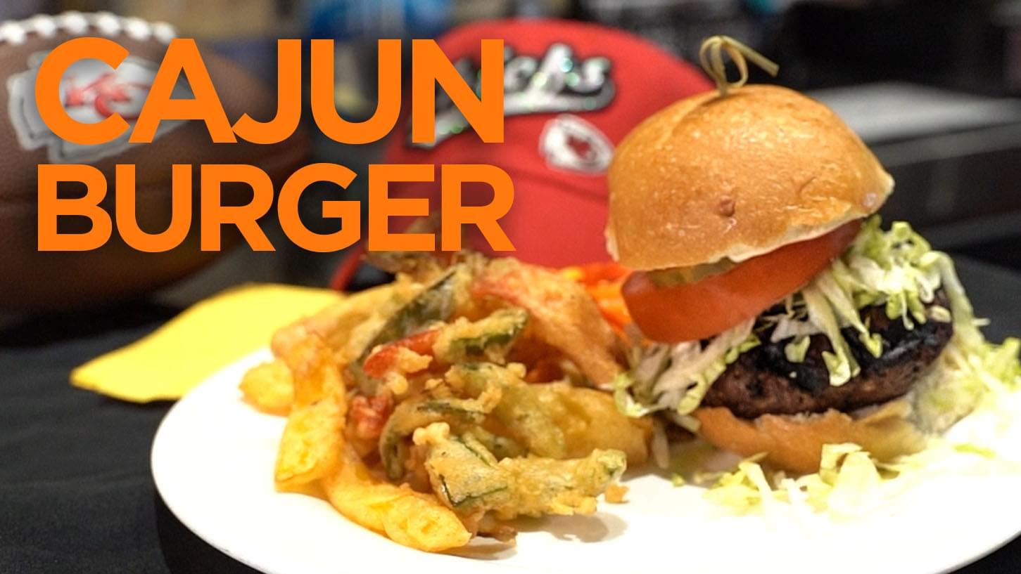 Hy-Vee Week 11 Burger of the Week: Cajun Burgers