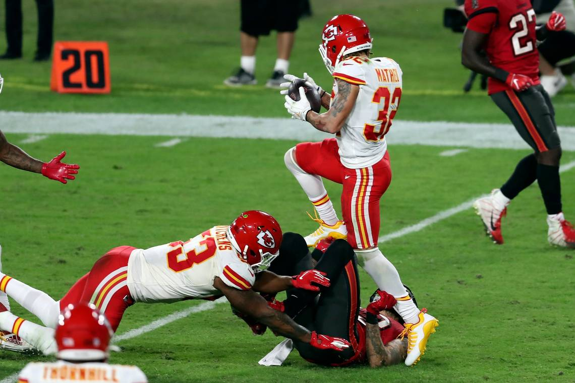 Chiefs players react to win over Bucs on social media