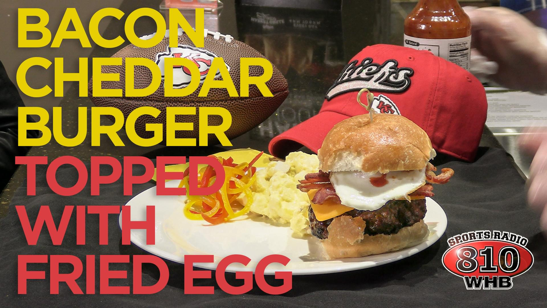 Hy-Vee Week 13 Burger of the Week: Bacon Cheddar with a Fried Egg