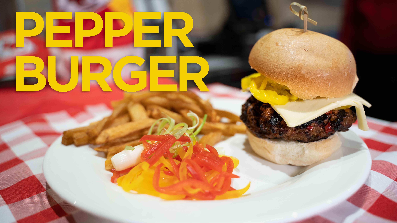 Hy-Vee Burger of the Week: Pepper Burger