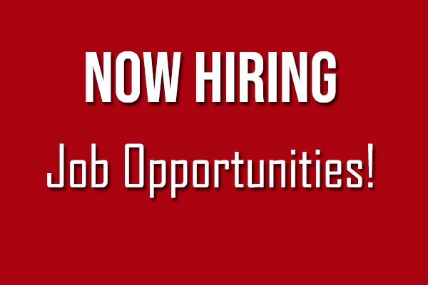 Job Opportunities!