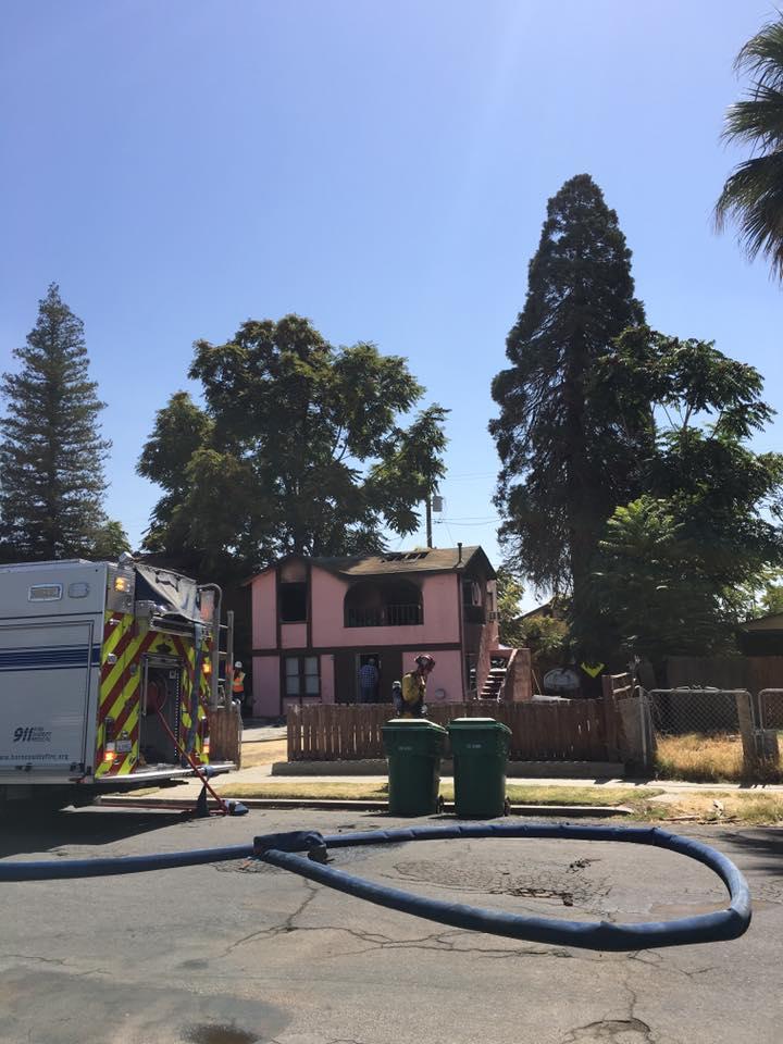 OILDALE APARTMENT FIRE UNDER INVESTIGATION