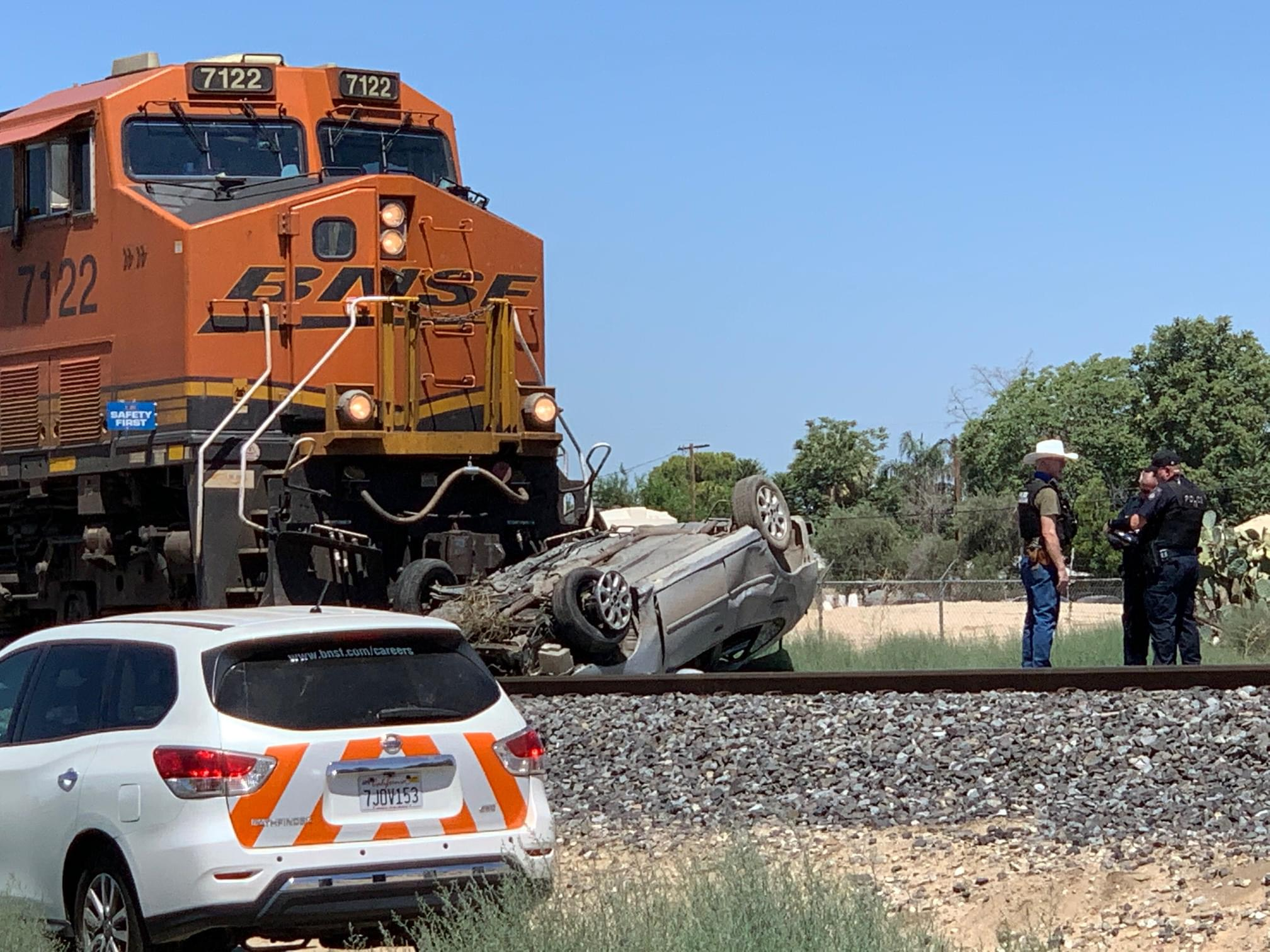 One Dead, One Injured in Train Vs. Vehicle Collision