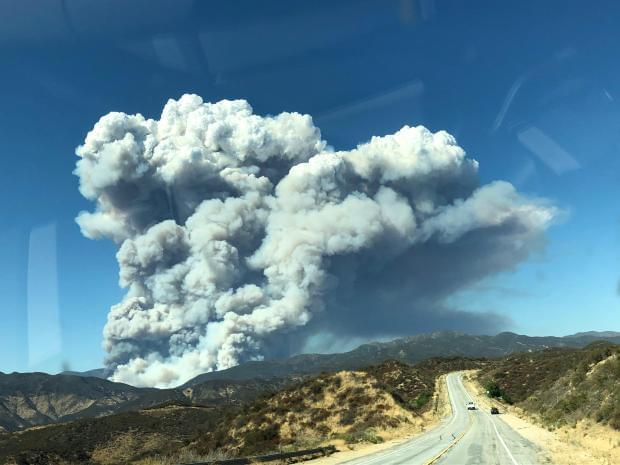Lake Fire Continues to Grow. Containment Increases to 12%