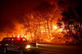 Wildfires Darken Skies Throughout the Southern Valley